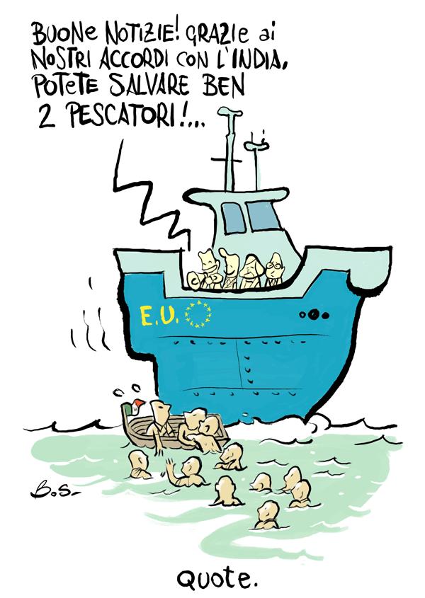 Sulla questione degli aiuti agli immigrati l'Europa non rimane a guardare!